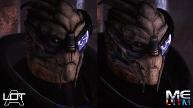 Garrus Comparison 1 ALOT Curation vs MEUITM installer