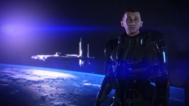 Lvl 60 Male Sentinel Paragon Shepard Save File At Mass Effect