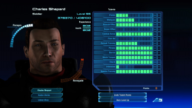 ShiftySpaceCow's Mass Effect 1 Saves
