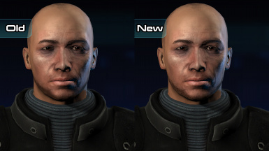 Facial Hair HD (ME1)