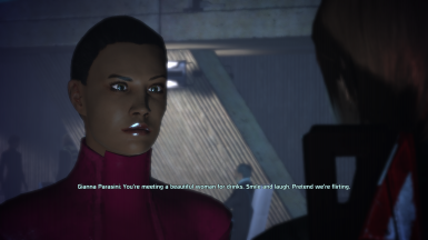 Gianna Parasini flirts with FemShep