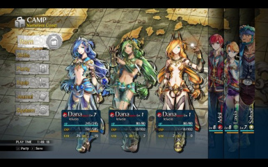 New Game EX PLUS Party Mod