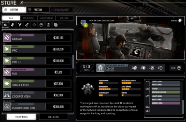 Unofficial Store Patch for RogueTech 996