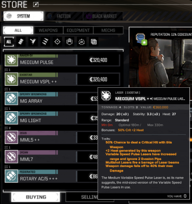 RogueTech Weapons Plus