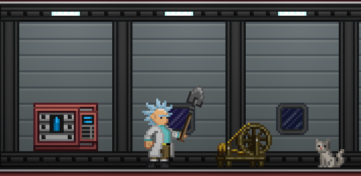 Rick and morty outfits at starbound nexus mods and community for Rick and morty craft list