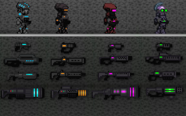 Marauder Equipment Mod