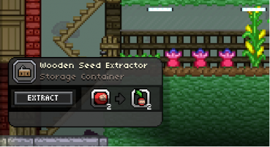 Seed Extractor and Genetics