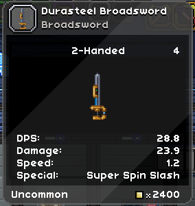 Weapon DPS