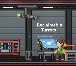 Reclaimable Turrets