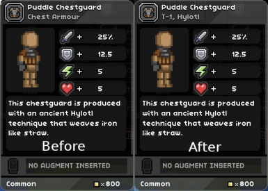 Improved Armor Descriptions