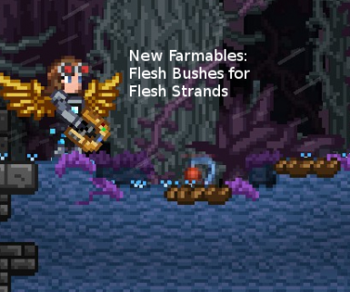 New Farmables - Flesh Bushes for Fleshh Strands