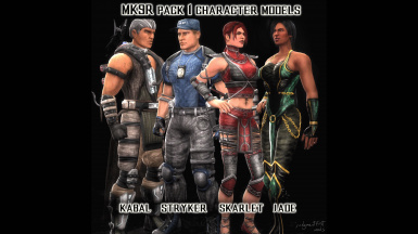 Mortal Kombat 9 Revised (Pack 1)