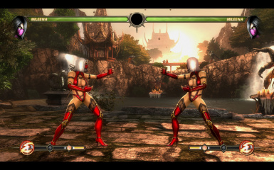 Red and White Mileena
