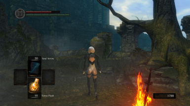 Nier Automata 2B Model Replacement DSR v3.0