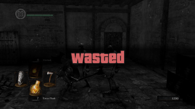 Wasted Death Message