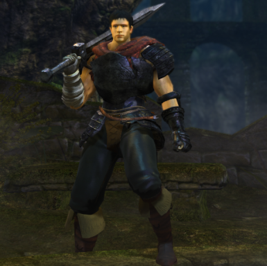Guts Golden Age Armor and Skin Mod