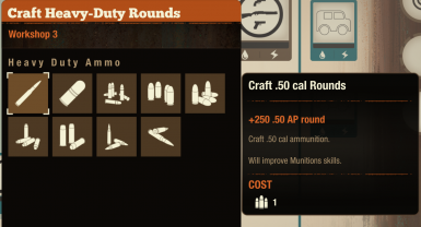 Craft all ammo types from all the ammo press mods.
