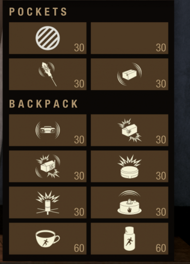 999 Consumables Stack