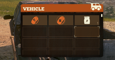 Vehicles have 100 inventory slots