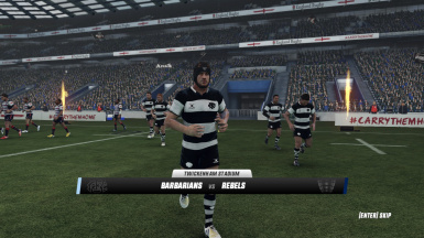 Barbarians FC 2018 end year kit