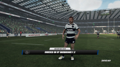 Barbarians FC 2018 Home Jersey