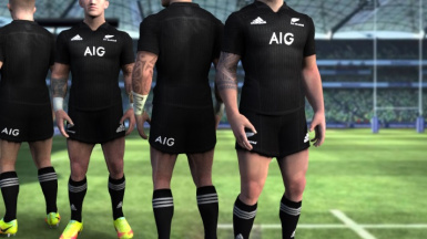 All Blacks 2018 Home kit