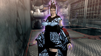 Bayonetta PC Umbran Komachi A Cube (Blue and Black) Mod