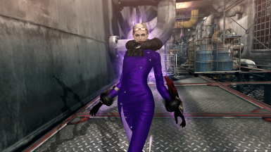 Bayonetta PC Jeanne's 'Purple Passion' Costume Skin Mod