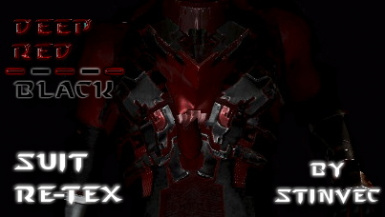 Deep Red and Black Suits - StinVec Re-textures