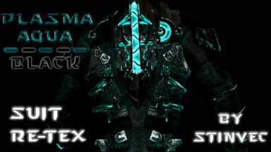 All Suits Aqua Plasma (Black and Aqua) - StinVec Re-textures