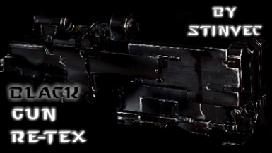 All Guns Black - StinVec Re-textures