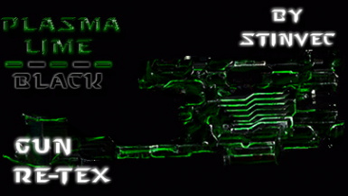 All Guns Lime Plasma (Black and Lime) - StinVec Re-textures