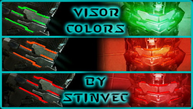Visor Colors - StinVec Re-textures