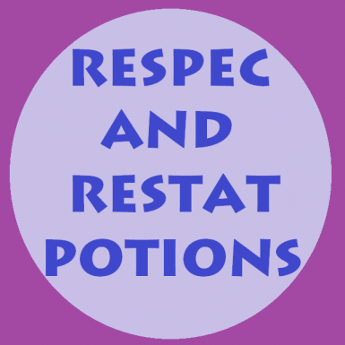 Respec and Restat Potions Logo