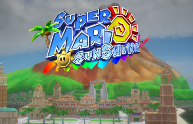 Super Mario Sunshine - Delfino Plaza (MAP MOD)