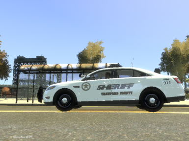 CCSO Skin For Ford Taurus