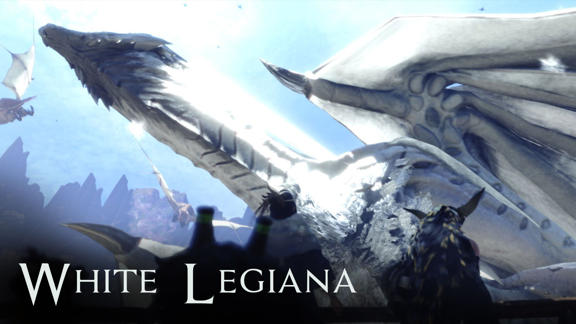 White Legiana At Monster Hunter World Mods And Community