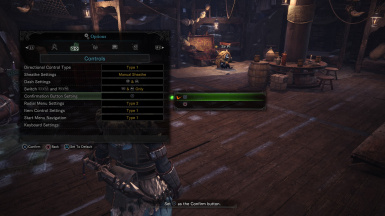 DualShock 4 Controller Prompts at Monster Hunter: World