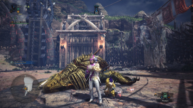 Cheat - Quest for level up at Monster Hunter: World - Mods