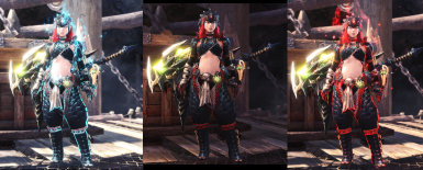 Female Nargacua Armor Butterfly Layered at Monster Hunter