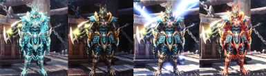 Zinogre GX Commission Layered for MALE and FEMALE