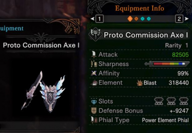 Cheat - One Shot Weapons at Monster Hunter: World - Mods and