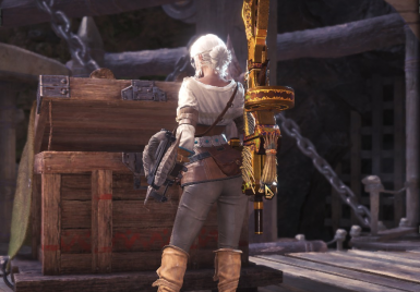 Fake Weapon Removal - Ciri