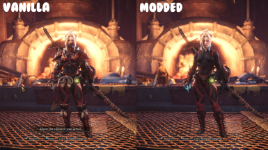 Simple Odogaron Armor (Alpha) at Monster Hunter: World - Mods and