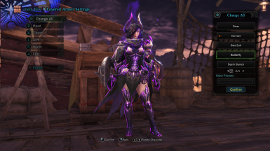 Chaotic Gore Magala Nephilim Gunner Armor - Finished