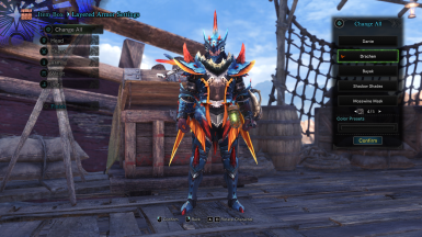 Lagiacrus X Male Armor Drachen Layered For Male And Female At Monster Hunter World Mods And Community