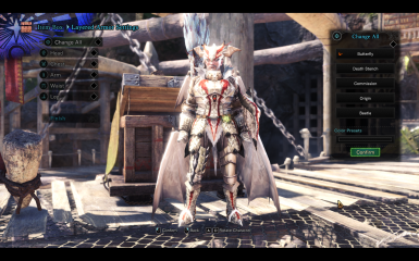 White Fatalis - Butterfly Layered - For Male and Female