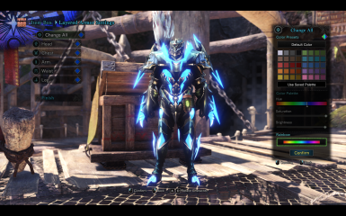 Azurebolt Astalos Male Armor - Butterfly Layered - For Male and Female