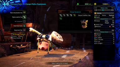 Poogie Palico Replacement
