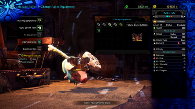 Poogie Palico Replacement at Monster Hunter: World - Mods and community